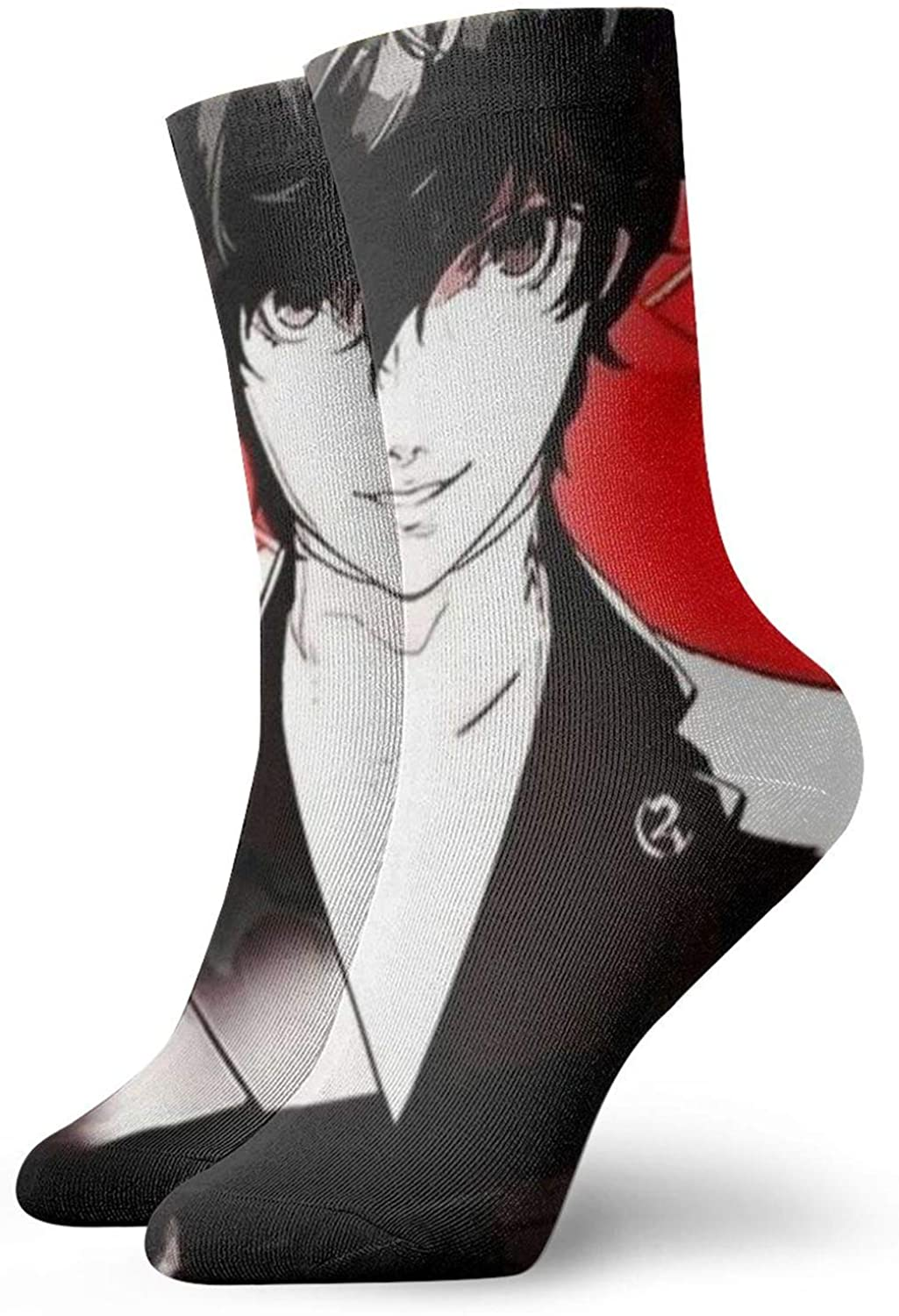 Unisex Adult Persona 5 3D anime sweat-absorbent deodorant sports stockings Novelty Casual funny sock