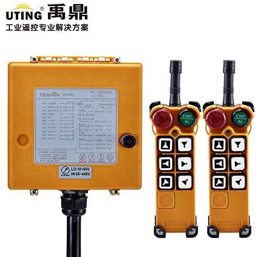Calvas Telecontrol F26-C3 radio remote control 2transmitter and 1receiver universal industrial wireless control for crane AC/DC