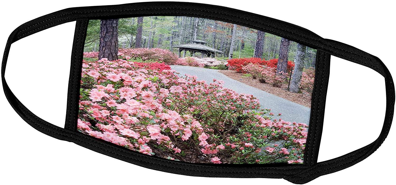 3dRose Georgia, Pine Mountain. Garden Gazebo - US11 JEG0146 - Julie. - Face Covers (fc_89328_1)