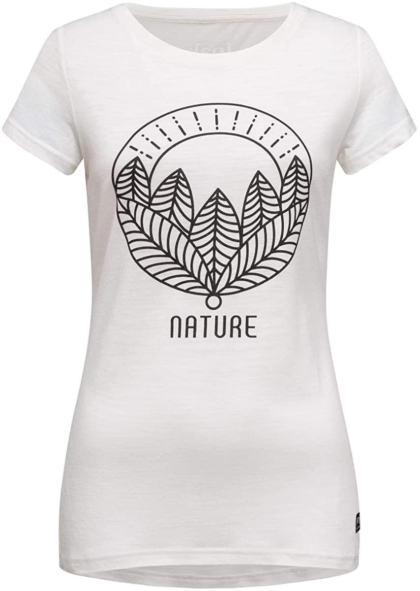 Super.Natural Women Fresh White Nature Print T-Shirt