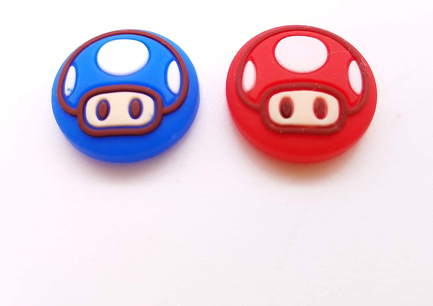 2PCS Silicone Joystick Thumb Stick Grips Cover Thumbstick Cap for Nintendo Switch Lite Console for Joy-Con Controller Joystisck Thumb Grip