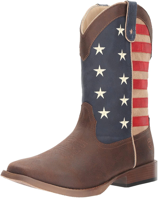 Roper Mens American Patriot Western Boot