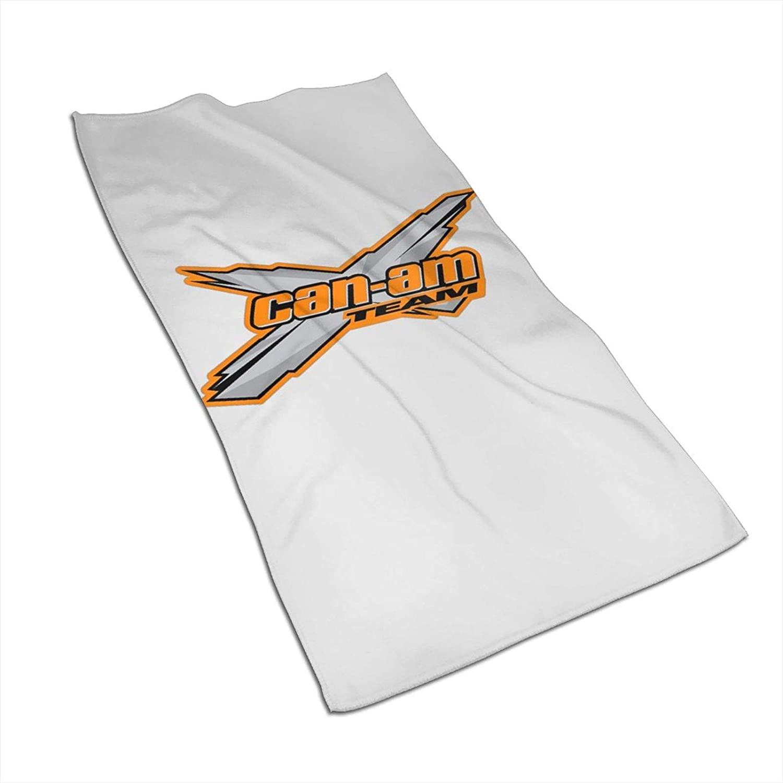 PSDJKI Canam Team Logo Soft Face Towel Sports Bath Towel Quick Dry Towel 27.5×15.7in