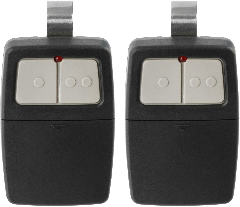 2 Universal Garage Door Opener Remote for Clicker Liftmaster Chamberlain Genie Linear 375LM 375UT KLIK1U