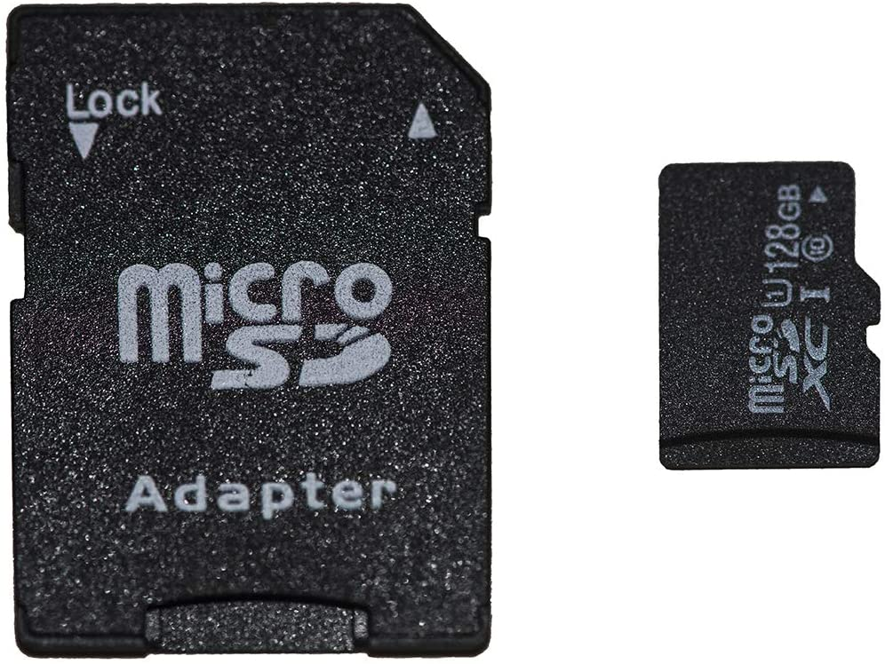 Link Micro SD Card 128 GIGA Class 10 with Micro SD Adapter