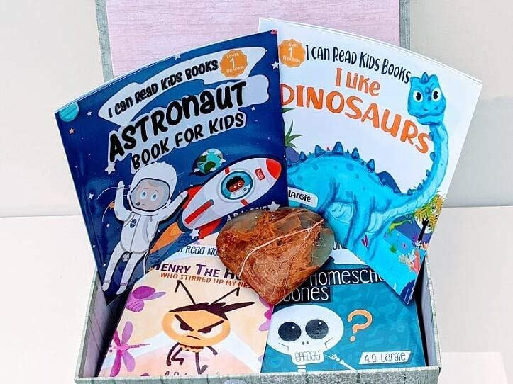 I Can Read Kids Book Club Subscription for young readers age 0-12.