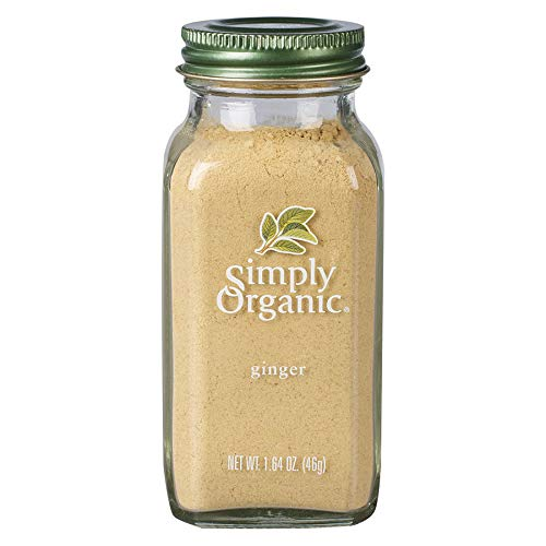 Simply Organic Ground Ginger Root, Certified Organic | 1.64 oz | Zingiber officinale Roscoe