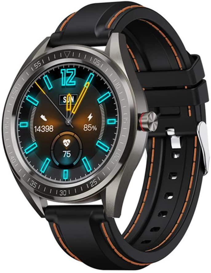 YHML Smart Watch Men and Women IP68 Waterproof Heart Rate Blood Pressure Sleep Monitor Sports Fitness Tracker Call Smartwatch