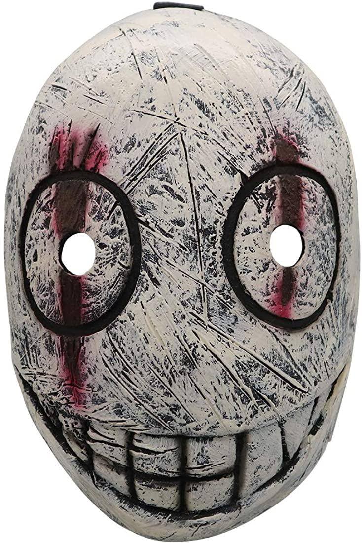 The Legion Mask Dead Daylight Frank Mask Latex Replica Halloween Cosplay Costume Gray