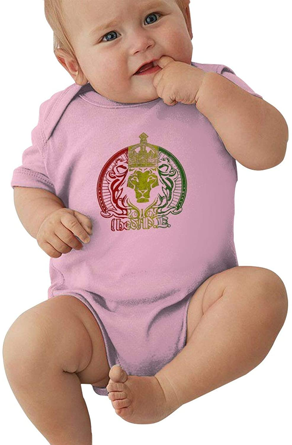 NYF Unisex Baby Bodysuits Infant Bodysuits Jumpsuit Newborn Romper Outfit for Boy Girls Pink