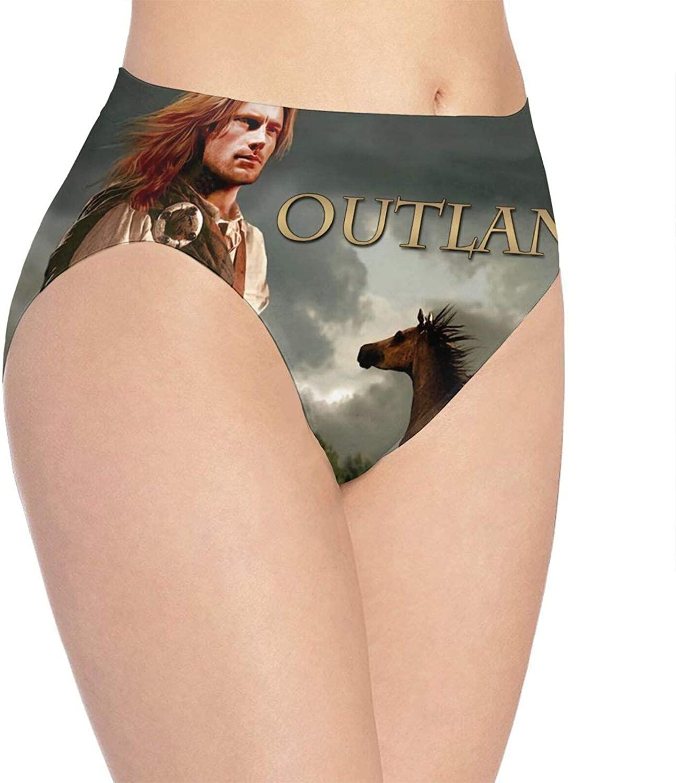 Gerneric Outla-nder Womens Panties Cotton Seamless Underwear Soft Stretch Hipster Briefs White