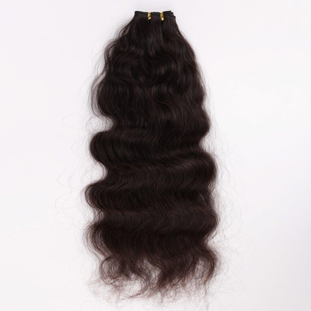 Wigsroyal Long Hair Extensions 24 Inch Human Hair Brazilian Hair Weave Natural Color,4Oz/Bundle, 3 Bundles(24
