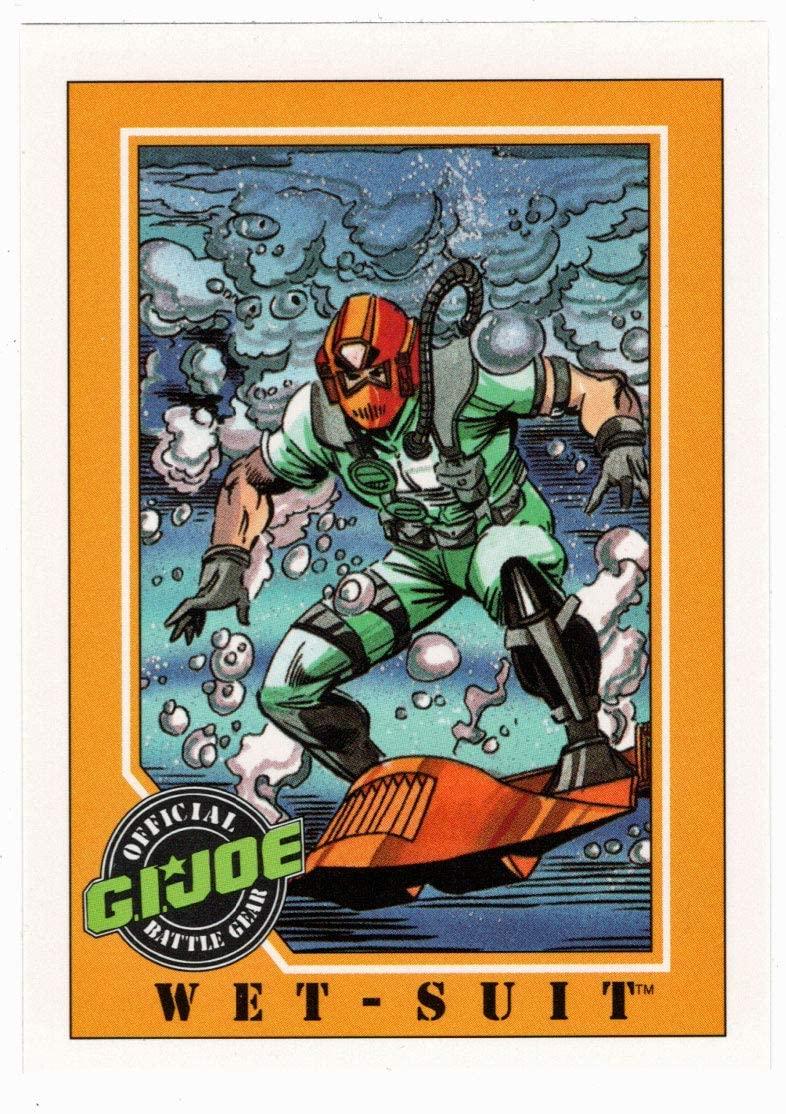 Wet-Suit - G.I. Joe Series 1 (Trading Card) # 61 - Impel 1991 NM/MT
