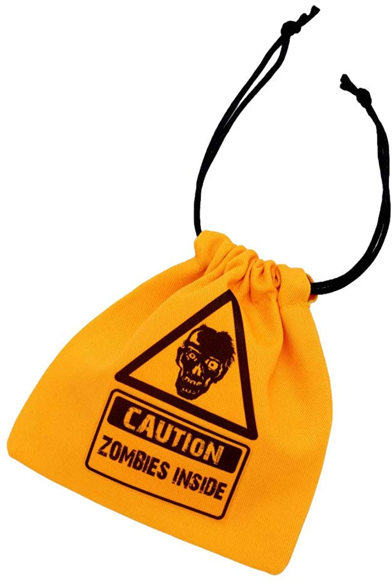 Hot Topic Caution Zombies Dice Bag