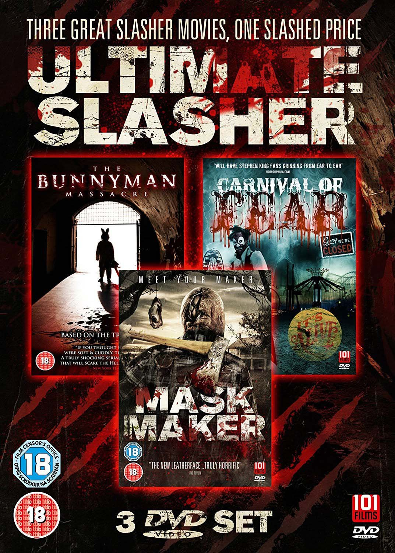 Ultimate Slasher Movie Triple Box Set [Non USA PAL Format]
