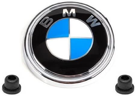 BMW e70 Hatch Emblem Roundel + Grommets GENUINE