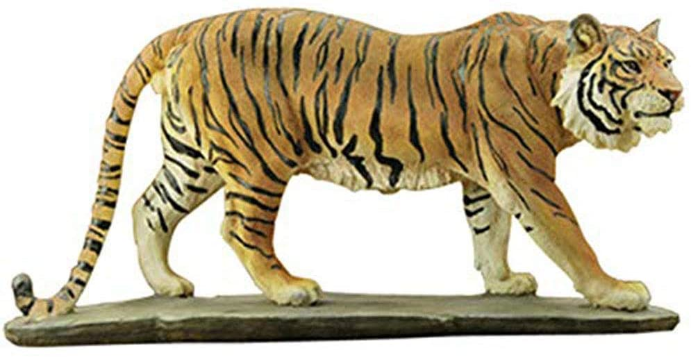 LIUSHI Sculpture Animal Statues Decorating Tiger Bust Representation Animal Statue Art Sculpture Rosin Crafts Home Decoration Creative Gift,44 12 21CM