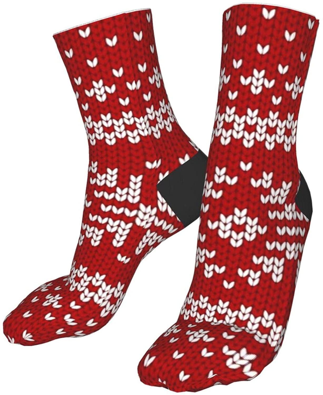 Christmas Socks, Unisex, Can Wear 5-9 Sizes, Interesting And Novel Santa Socks