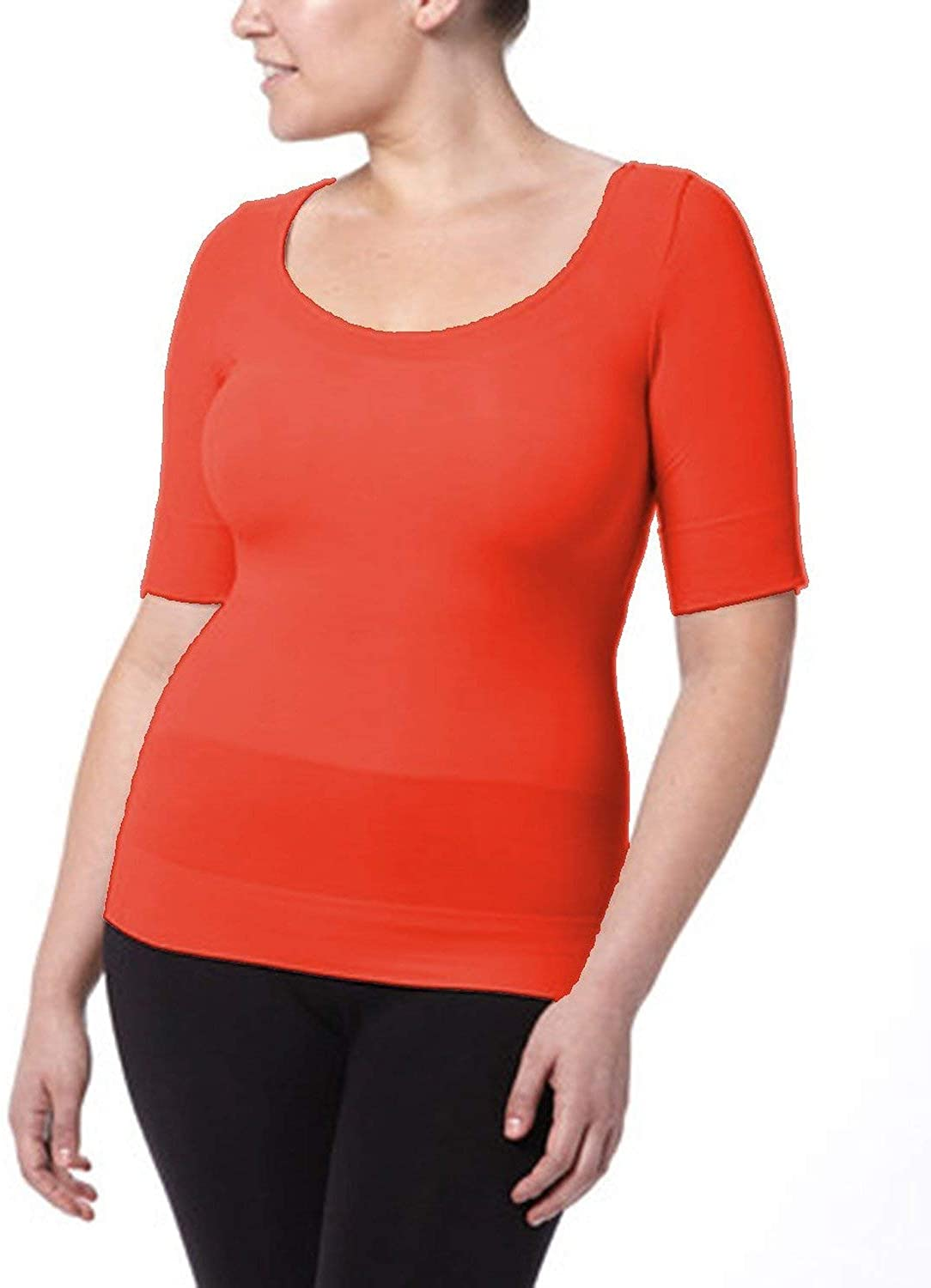 SPANX On Top and in Control - Elbow Sleeve Shaping Top