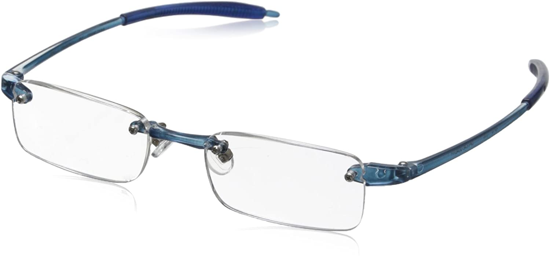 Visualites 1 Sky Blue 1.75 Rectangle Reading Glasses