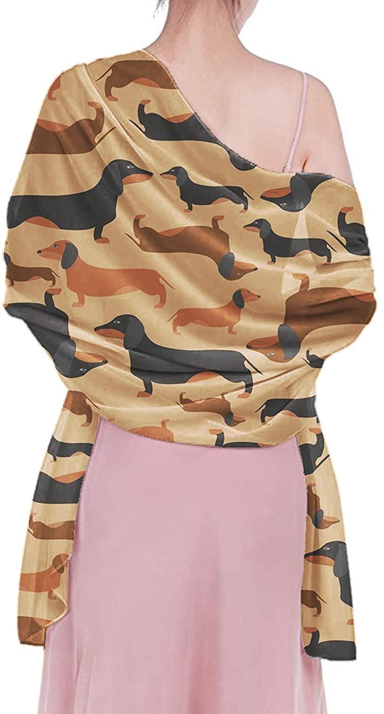 Women Girls Shawls, Novelty Headscarf, Elegant Summer Shawl, Beach Wrap Wear