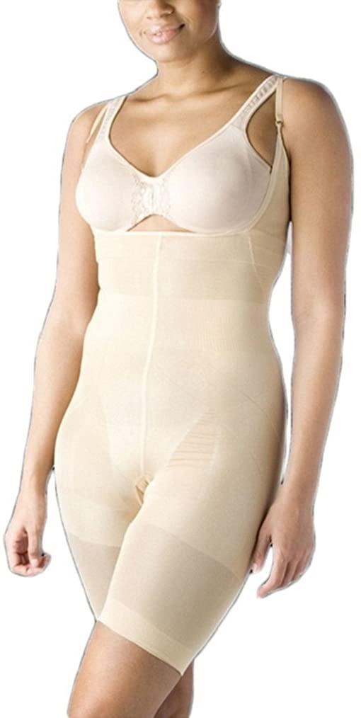 Valentina Womens One- Piece Shapewear Bodysuit High Waist Tummy Control with Butt Compression Hot Comfortable Bodyshaper