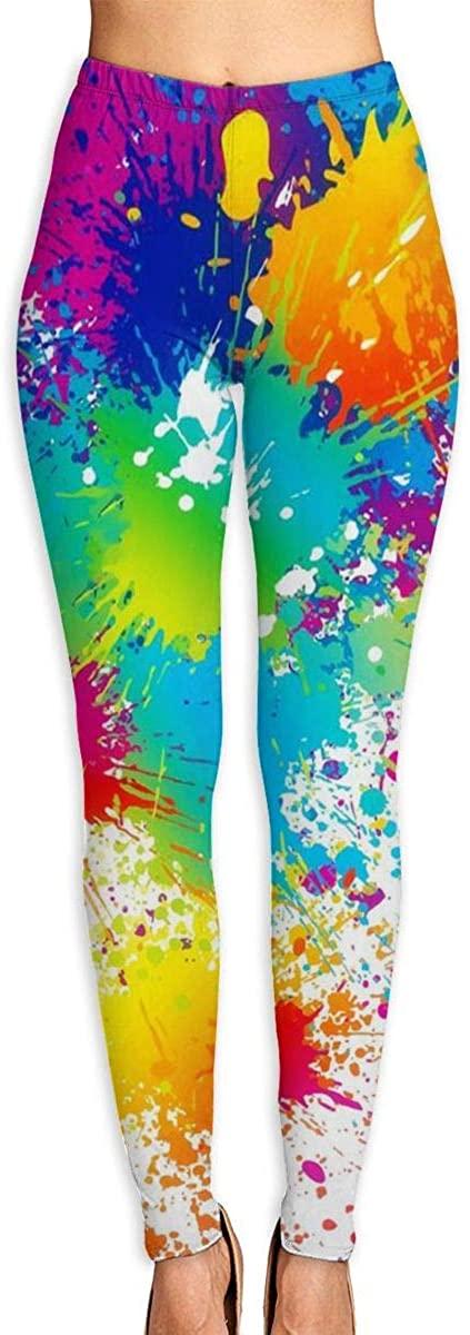 UNSUWU Yoga Pants for Women Sports Leggings High Waist Tummy Control Workout Running Tights