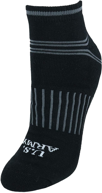 US Army Women's Low Quarter Cut All Season Cotton Blend Socks (3 Pair Pack)