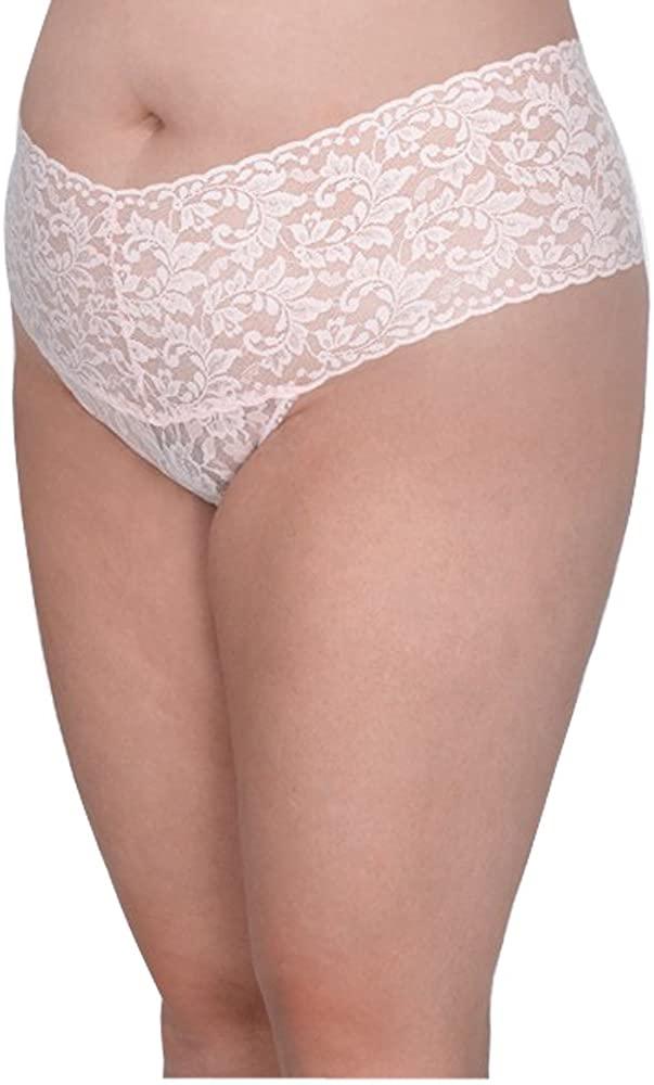 hanky panky Plus Size Womens Retro Lace Thong
