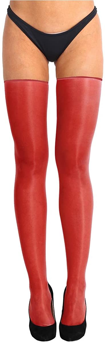 Agoky Women's Tights Pantyhose Thigh High Hosiery Sheer Stocking Over Knee Oil Socks