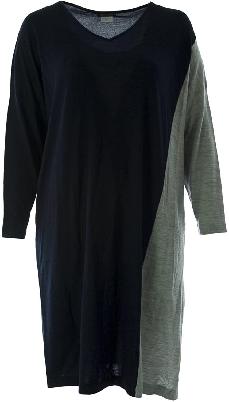 Marina Rinaldi Women's Gelato Sweater Dress Navy/Grey