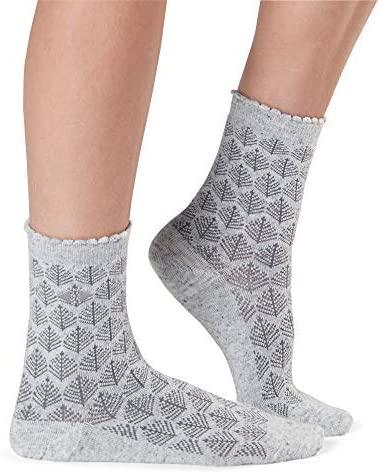 Tavi Noir Women's Kate Mini Crew Sock (Wysteria Point) One Size