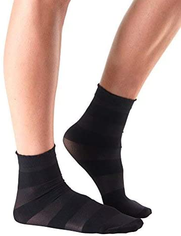 Tavi Noir Casual Sheer Cassie Mini Crew Socks