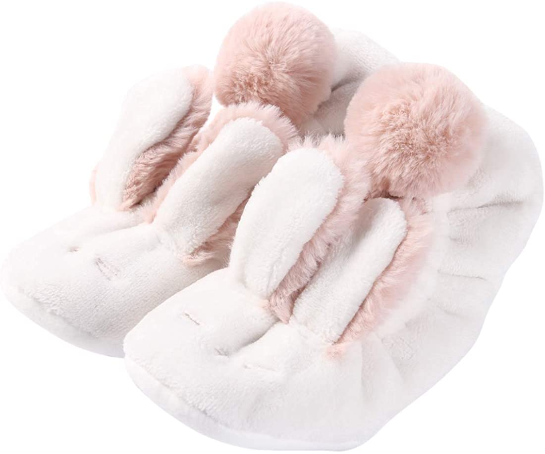 Forfoot Women's Winter Warm Thermal Fleece Lined Knit Holiday Fuzzy Slipper Socks with Grippers