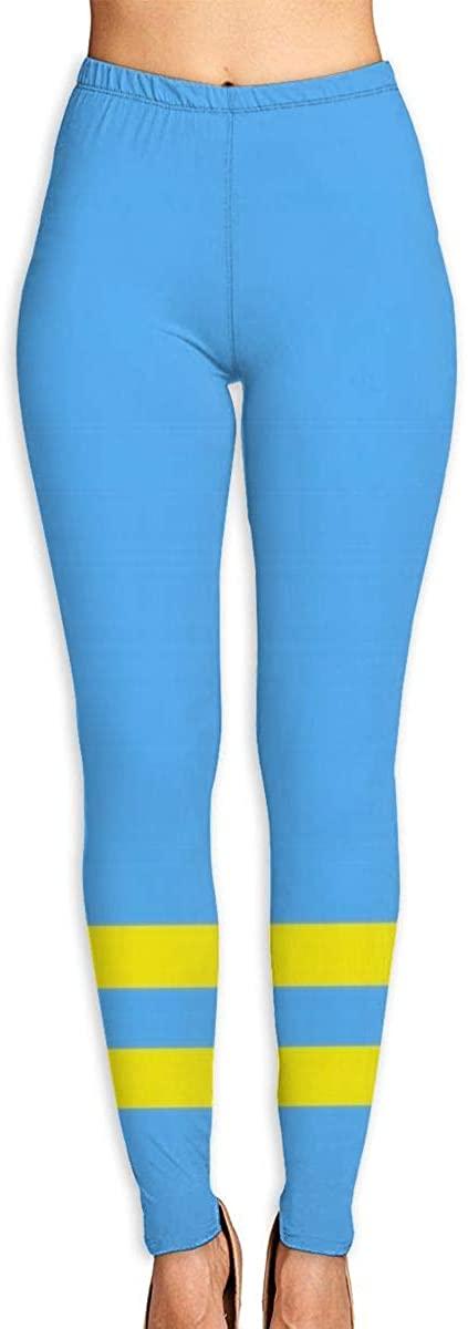 UNSUWU Women's High Waist Pattern Leggings Workout Yoga Pants Athletic Tummy Control Tight Pants