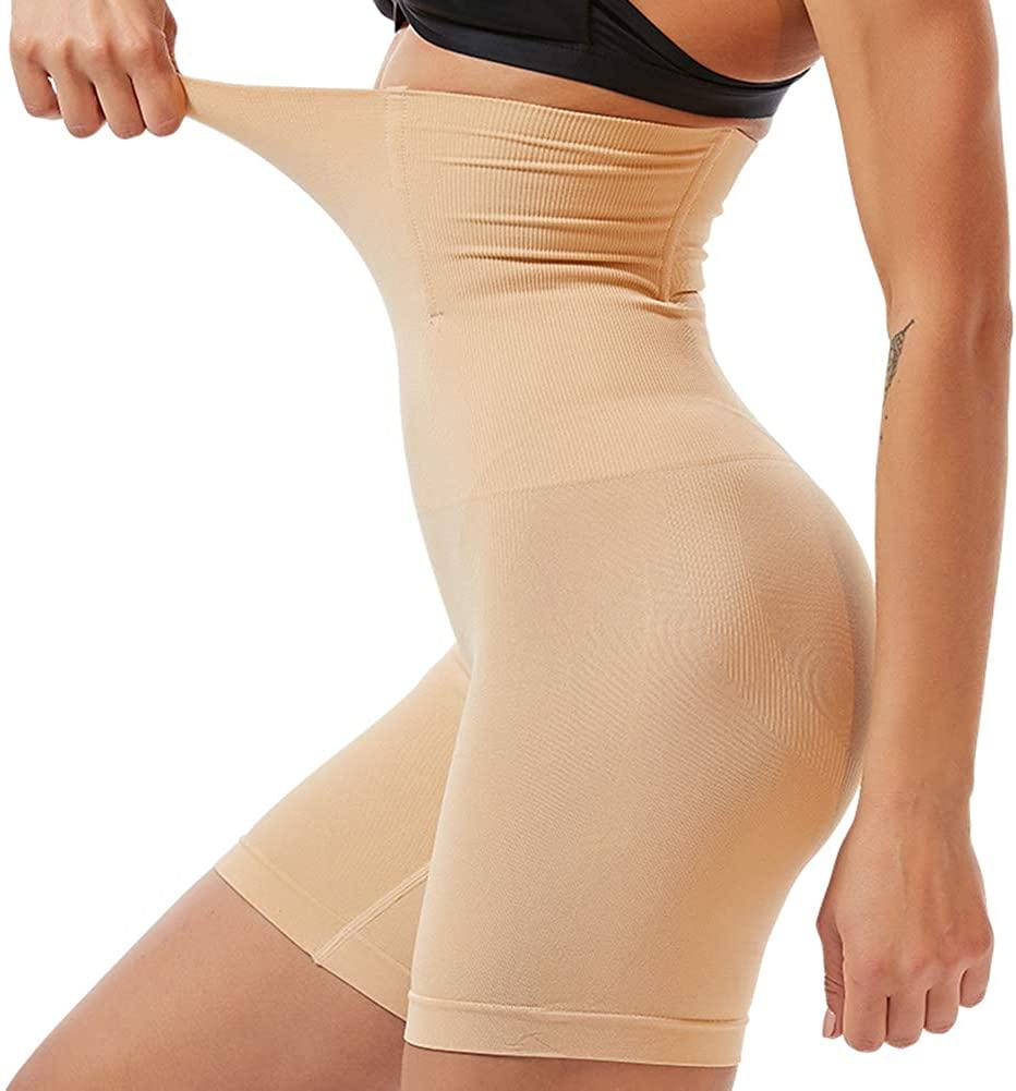 HOFUJINGSHI Women Waist Trainer Tummy Control Shapewear Body Shaper Hi-Waist Butt Lifter Thigh Slimmer