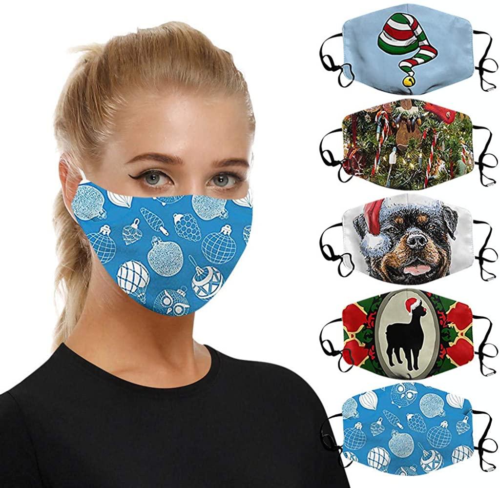 Dustproof Macks Reusable,Dust Face Mouth Macks Fashion Anti Dust Pollution Floral Print Adjustable Washable Macks for Women