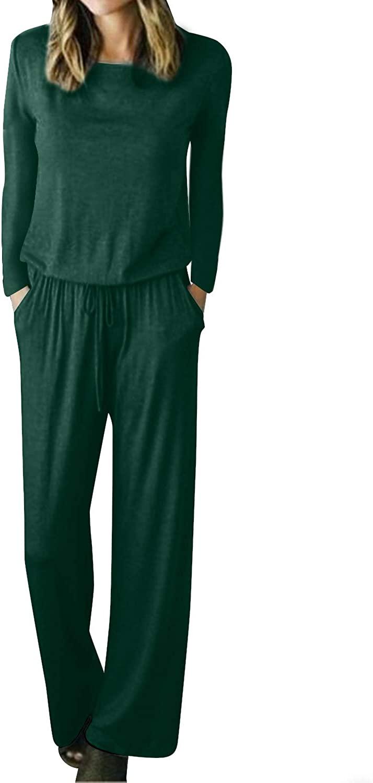 Kenoce Women Floral Print Jumpsuit Sleeveless Summer V Neck Waist Belted Side Slit Wide Leg Long Pants Rompers Outfit