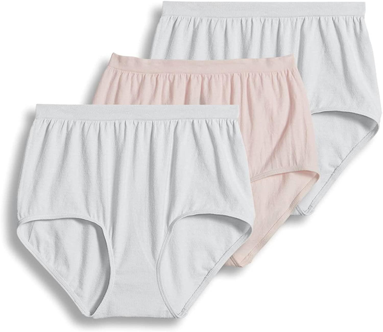 Jockey Women's Underwear Comfies Cotton Brief - 3 Pack