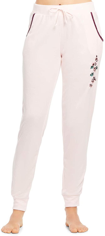 Gloria Vanderbilt Women's Sleep Pants - Stretch Slim Fit Pajama Bottoms XL Pink