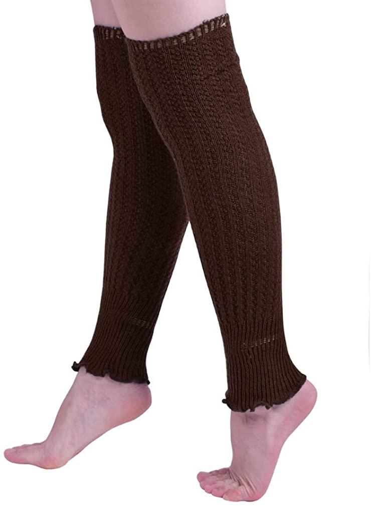 Nanxson Women's Long Leg Warmers Winter for 80s Eighty's Party Sports Yoga TTW0013