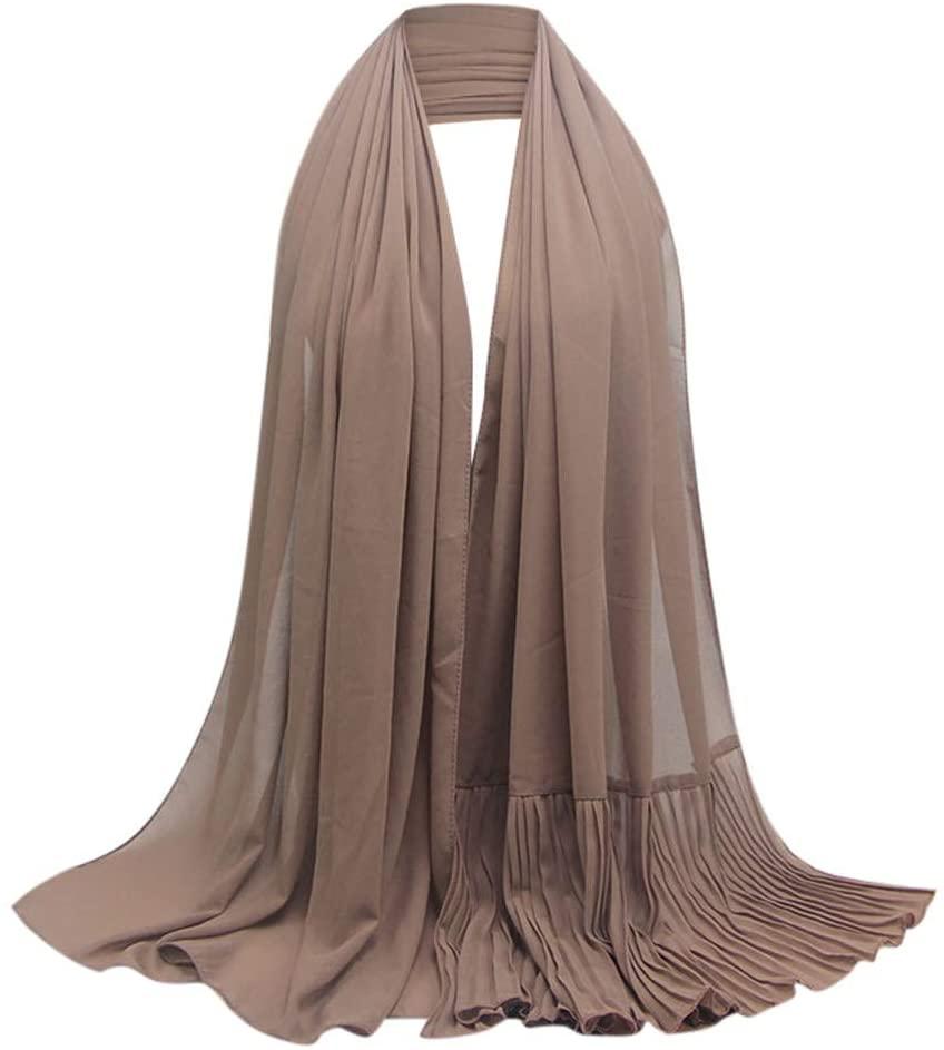 Fineday Hijab for Muslim Women Long Headscarf Islamic Scarf Turban Pashmina Shawl, Scarf, Clothing Shoes & Accessories
