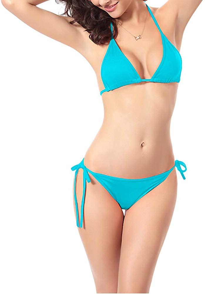 Memelov String Bikini Triangle Bikini Bikinis for Women Bathing Suits for Women Two Piece