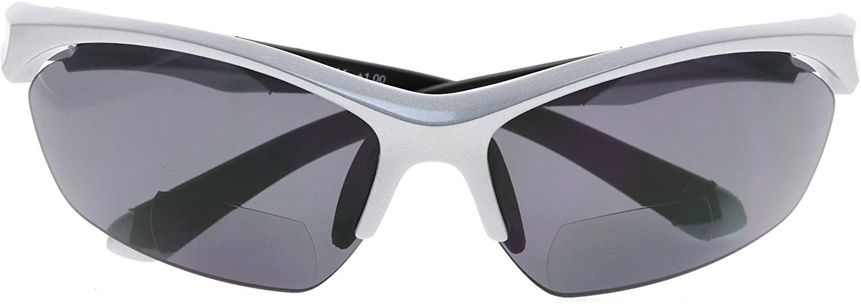 BFOCO Classic Retro Anti-UV Sports Bifocal Sunglasses for Mens Womens