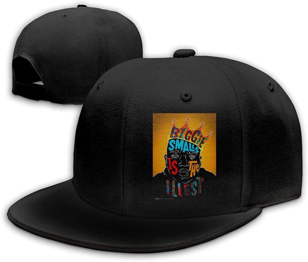 Kemeicle Unisex Biggie Smalls is The Illest Baseball Cap Flat Bill Street Rapper Hat Adjustable Snapback