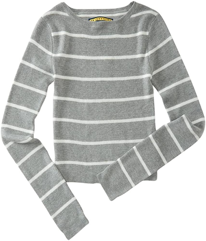Aeropostale Womens Striped Pullover Sweater