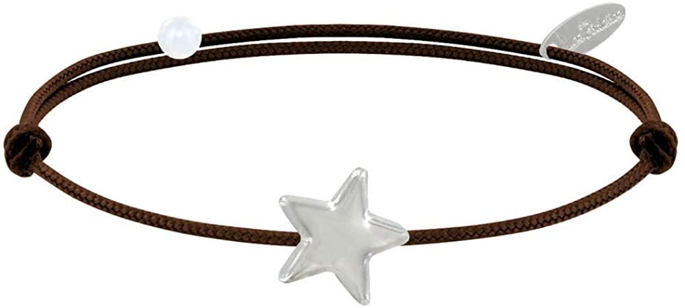 Les Poulettes Jewels - Sterling Silver Link Bracelet Star - Classics