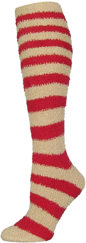 J. Ann Ladies 1-Pack or 2-Pack Cozy Knee Hi Socks, Sock Size 9-11