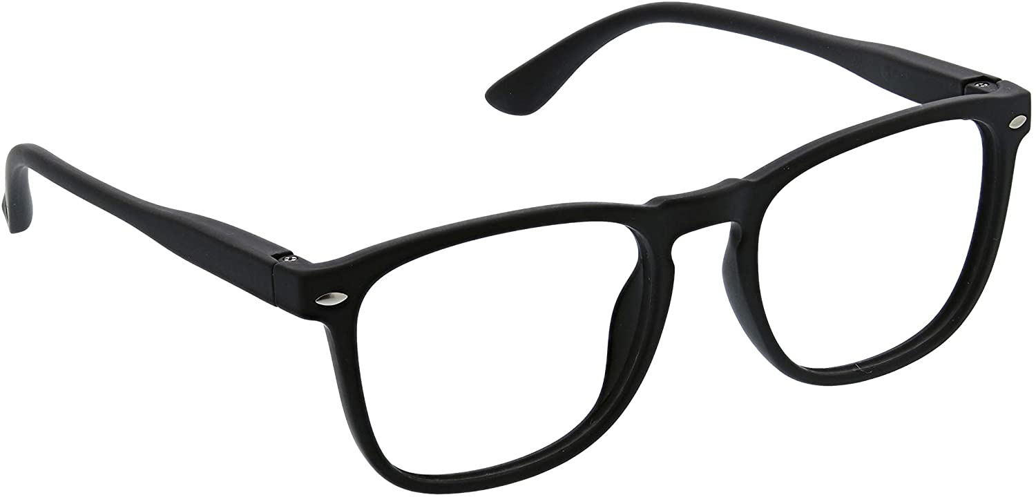 Peepers by PeeperSpecs Dylan Focus Square Blue Light Filtering Reading Glasses