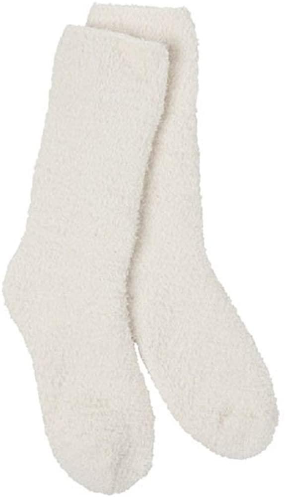 World's Softest Knit Pickin Fireside Crew Sock (Cloud)